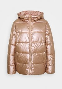 ONLY - ONLSAVANNAH METALLIC PUFFER - Winter jacket - frosted almond - 4