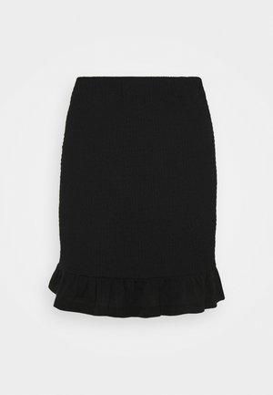 VIHAGEN SHORT FESTIVAL SKIRT - Mini skirt - black