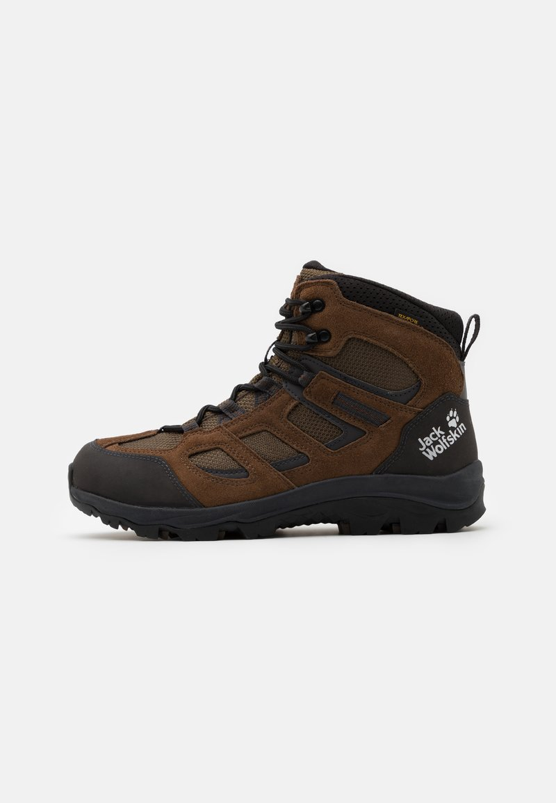 Jack Wolfskin - VOJO 3 TEXAPORE MID - Hikingsko - brown/phantom