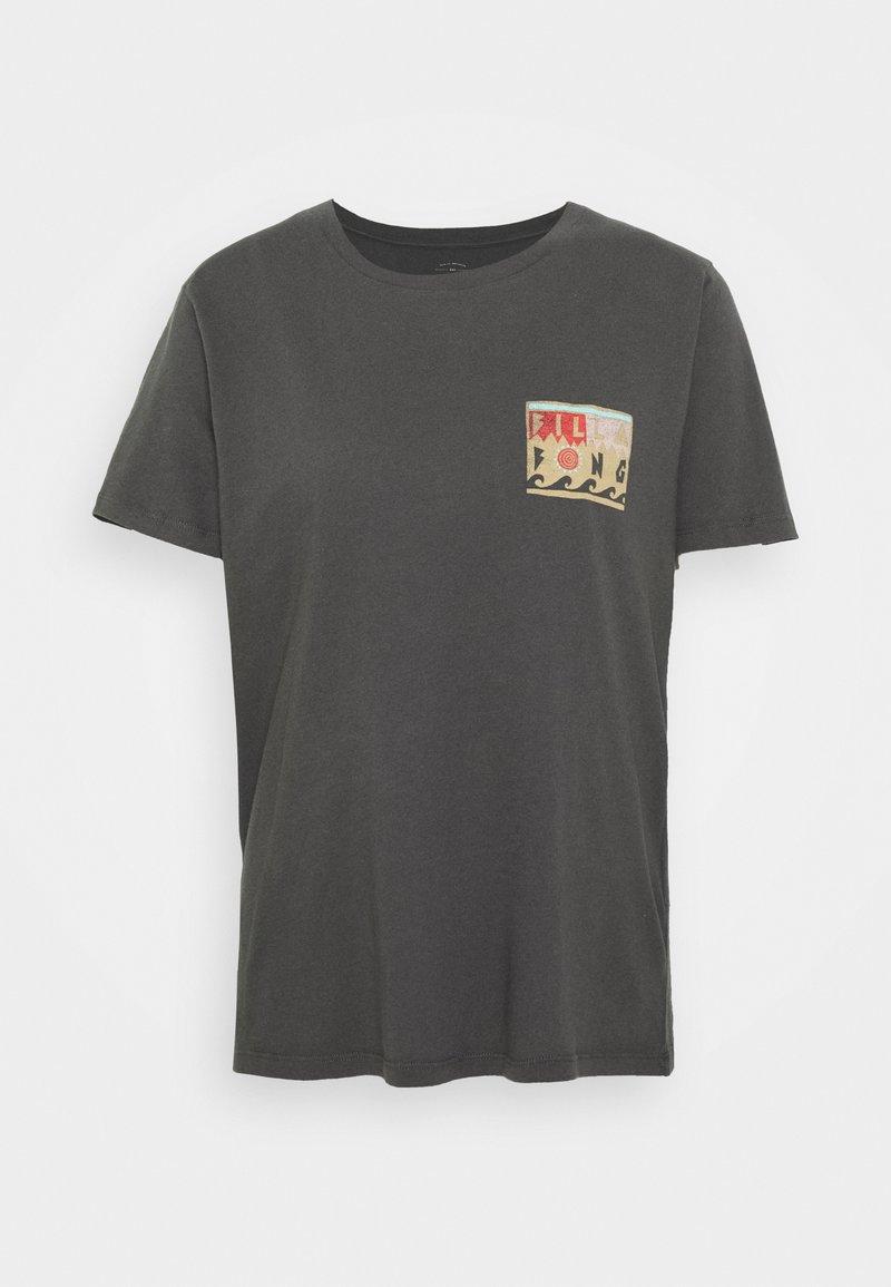 Billabong - ISLE OF COLLAGE - T-shirts med print - off black