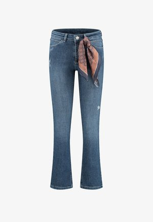 NOA  - Bootcut jeans - used ink blue