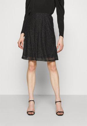 VMGLITTER SKIRT - A-snit nederdel/ A-formede nederdele - black/silver