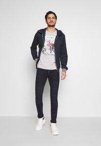 TOM TAILOR DENIM - CULVER PERFORMANCE - Jeans Skinny Fit - blue black denim - 1