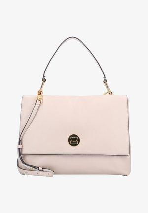 Handbag - powder pink/lambskin white