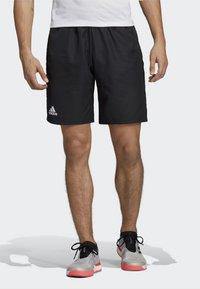 adidas Performance - CLUB SHORTS - Urheilushortsit - black - 0