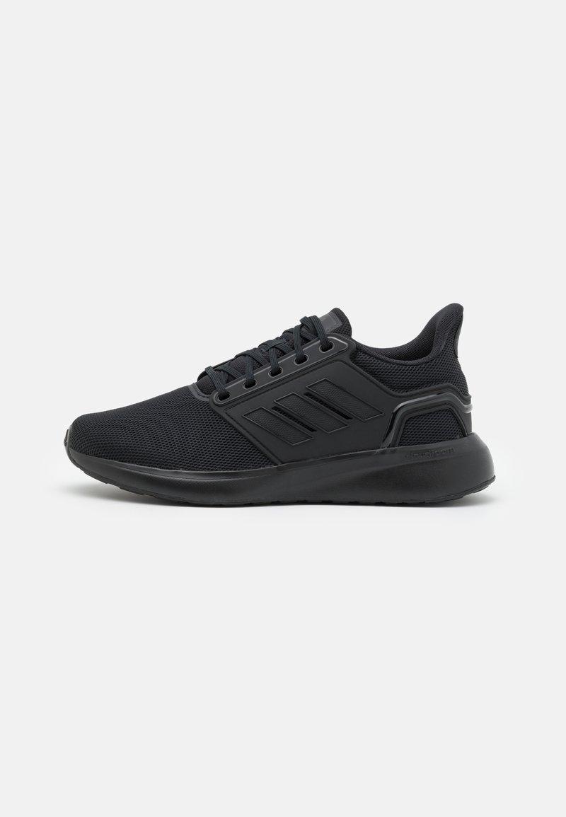 adidas Performance - EQ19 RUN - Obuwie do biegania treningowe - core black/grey six