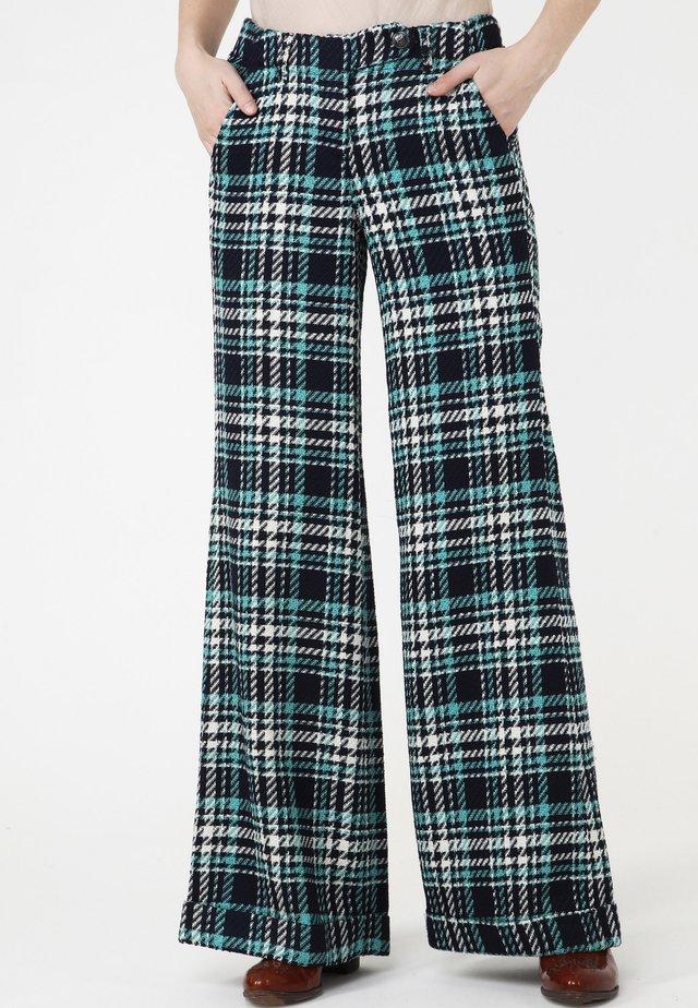 Pantalon classique - blau/ meereswelle
