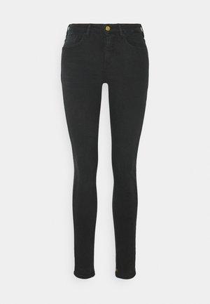 LA BOHÉMIENNE - Straight leg jeans - black coast