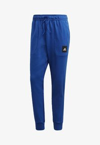 adidas Performance - MUST HAVES STADIUM TRACKSUIT BOTTOMS - Pantalones - blue - 6