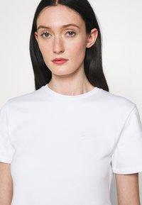 KARL LAGERFELD - RUFFLE - T-shirts print - white - 3