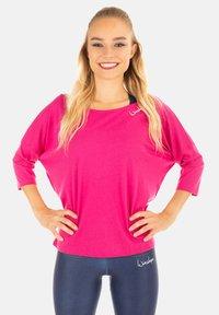 Winshape - MCS001 ULTRA LIGHT - Long sleeved top - deep pink - 0