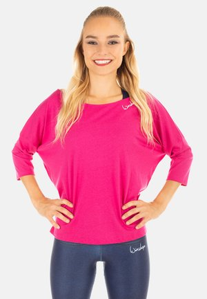 MCS001 ULTRA LIGHT - Long sleeved top - deep pink