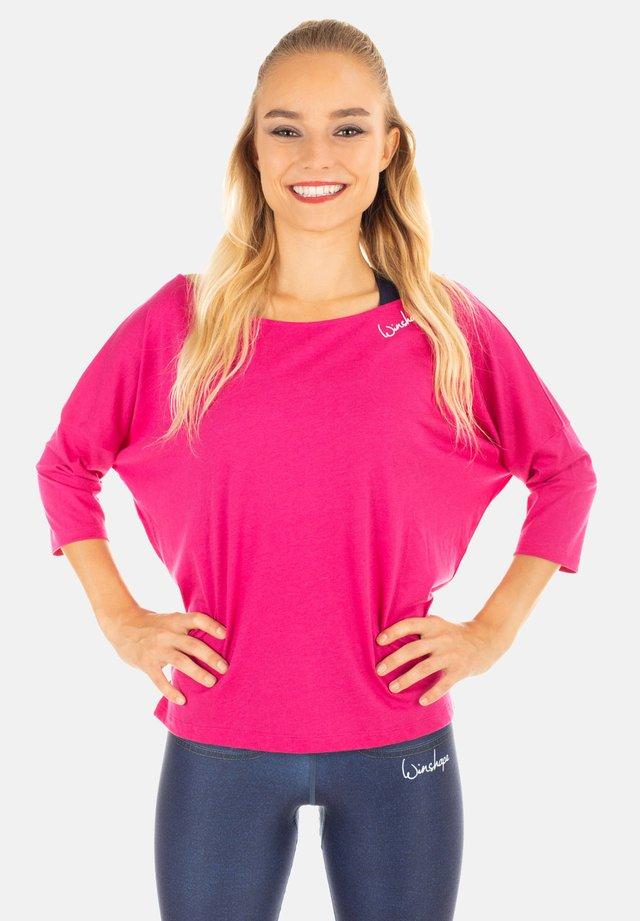 MCS001 - T-shirt à manches longues - deep pink