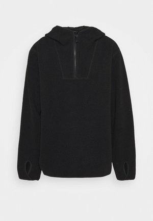 HOODIE - Fleece jumper - black dark