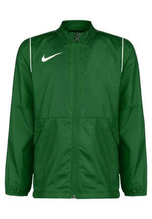 PARK 20 REPEL REGENJACKE KINDER - Training jacket - pine green / white