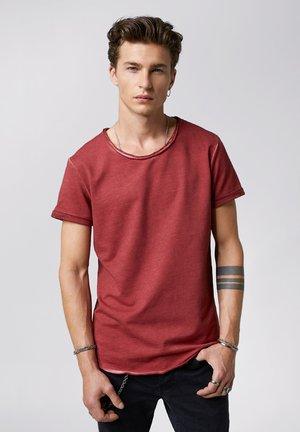 MILO - Basic T-shirt - vintage bordeaux