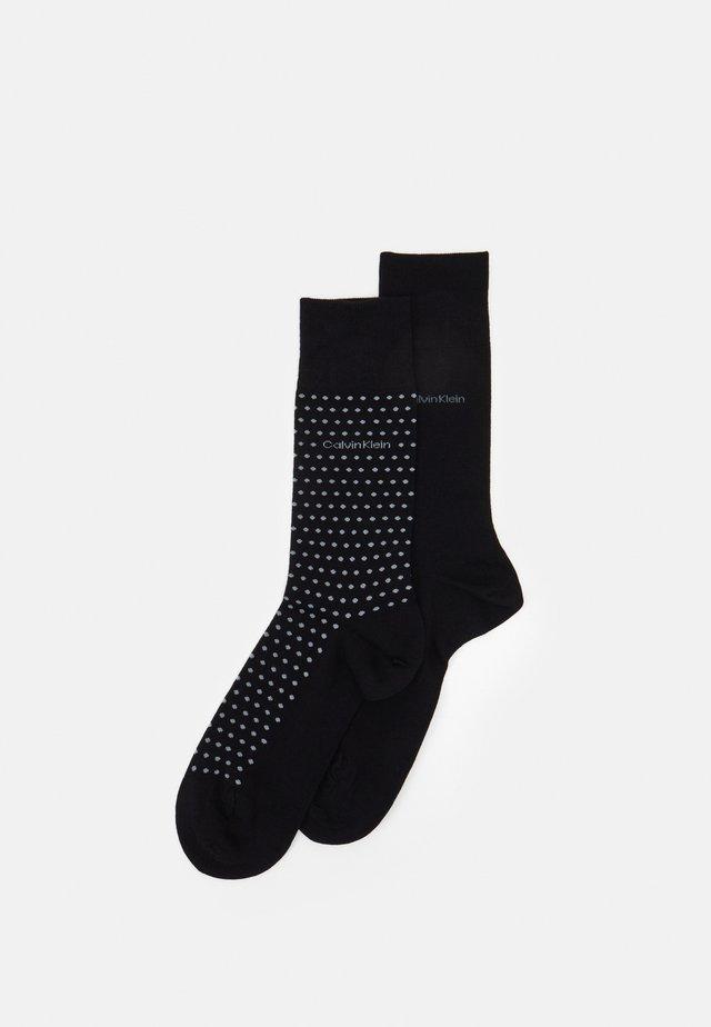 MEN CREW DOT FELIX 2 PACK - Socken - black