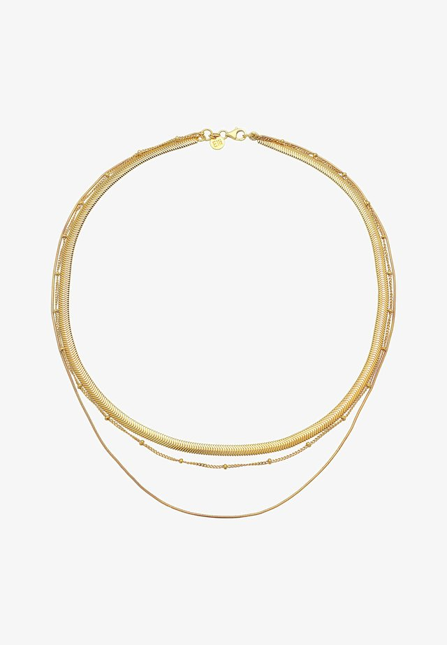 LAYER LOOK - Collana - gold