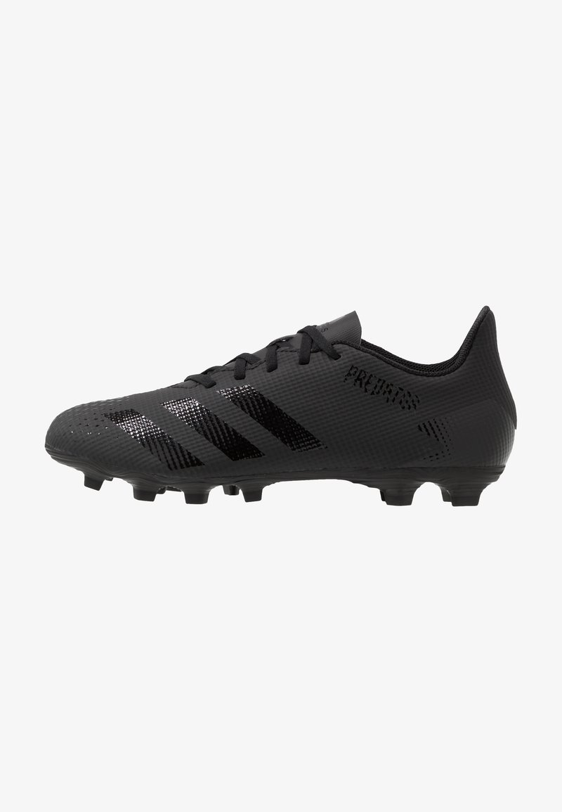 adidas Performance - PREDATOR 20.4 FXG - Moulded stud football boots - core black/dough solid grey