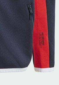 adidas Performance - Z.N.E. FULL-ZIP HOODIE - Zip-up sweatshirt - blue - 4