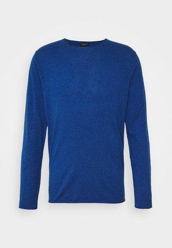 SLHDOME CREW NECK - Stickad tröja - estate blue