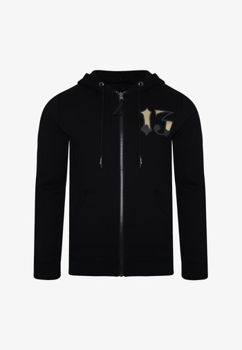 DRAGON-13 ZIP THRU FLEECE SWEAT HOODY