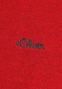 s.Oliver - LANGARM - Jumper - uniform red - 3