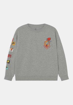 ARM GRAPHIC - Sweatshirt - grey marl