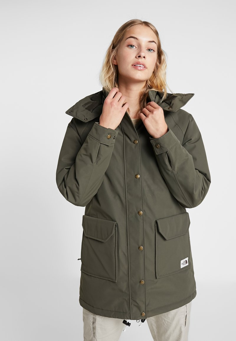 The North Face - INSULATED ARCTIC MOUNTAIN JACKET - Cappotto corto - new taupe green
