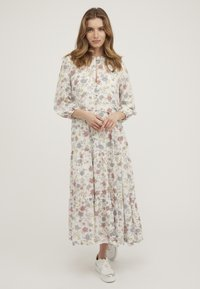 Oliver Bonas - REVIVAL FLORAL - Maxi dress - white - 0