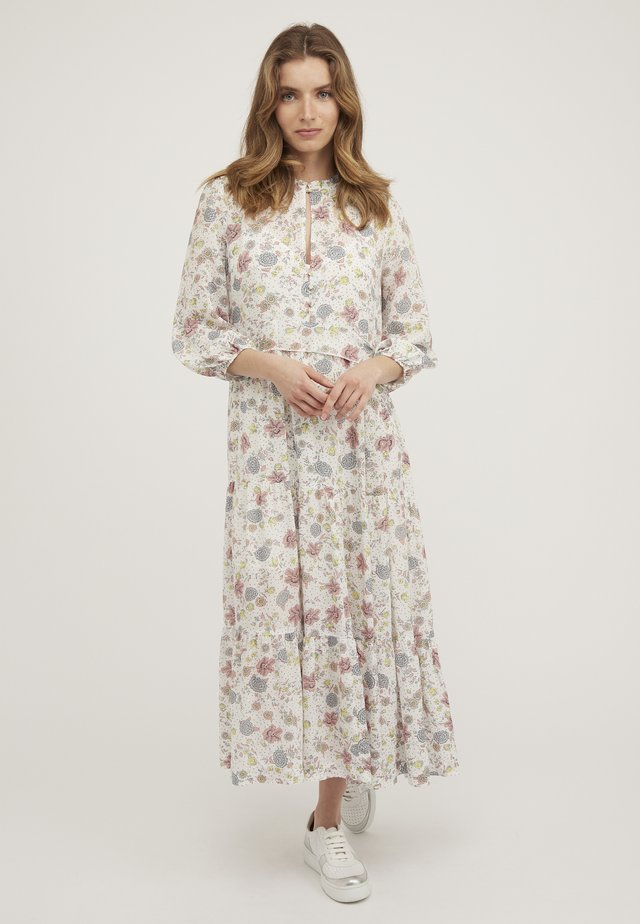 REVIVAL FLORAL - Maxi dress - white