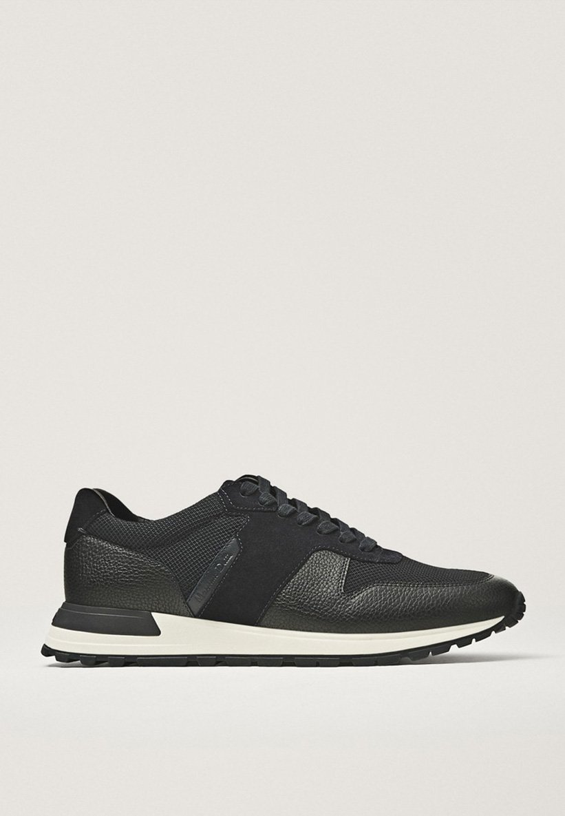 Massimo Dutti Sneakers basse - black | Scarpe A Buon Mercato
