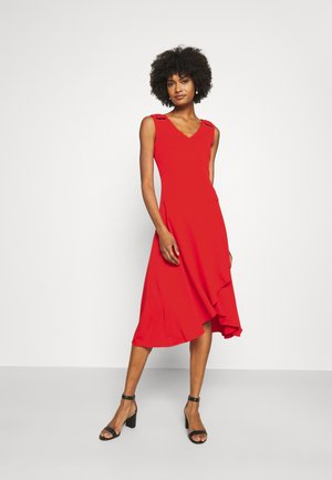 ELIZIO SLEEVELESS CASUAL DRESS - Jersey dress - bright hibiscus