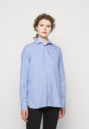 END ON END - Button-down blouse - classic medium blue