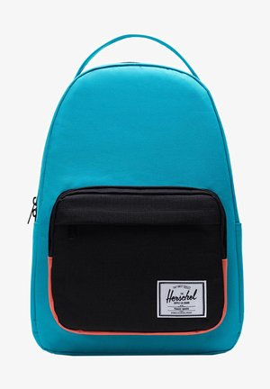 MILLER - Rucksack - blue bird/black/emberglow