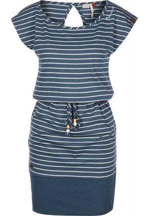 KLEID SOHO STRIPES W - Day dress - denim blue