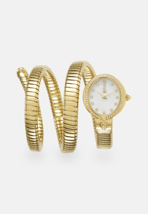 DROUBLE WRAP WATCH - Hodinky - gold-coloured/white