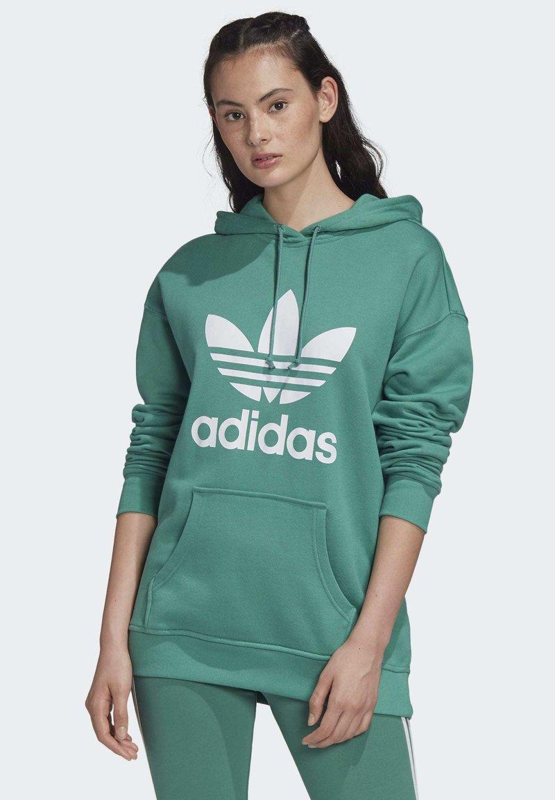 adidas Originals - Luvtröja - turquoise/white