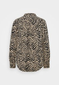 Marks & Spencer London - ZEBRA SPUN - Button-down blouse - black - 7