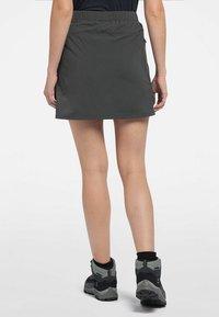 Haglöfs - LITE SKORT - Sports skirt - magnetite - 1