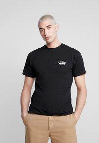 Vans - LOST AT SEA - Print T-shirt - black - 2