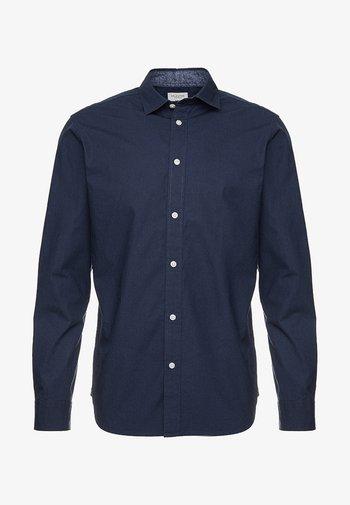 SLHSLIMMARK WASHED - Kostymskjorta - navy blazer