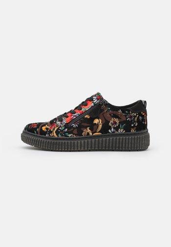 Sneakers basse - black/multicolor