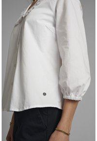 Nümph - Button-down blouse - bright white - 3