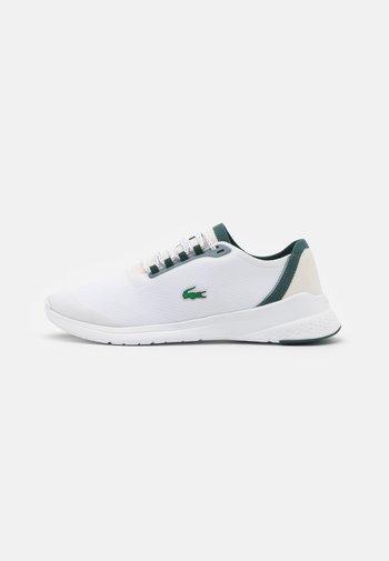 LT FIT  - Trainers - white/dark green