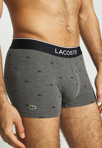 Lacoste - 3 PACK - Shorty - black/pitch chine-silver chine - 4