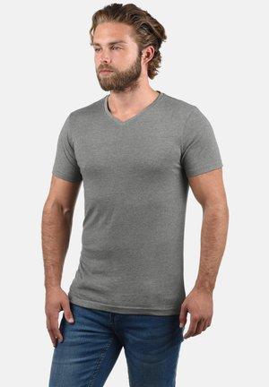2 PACK - Basic T-shirt - mottled grey