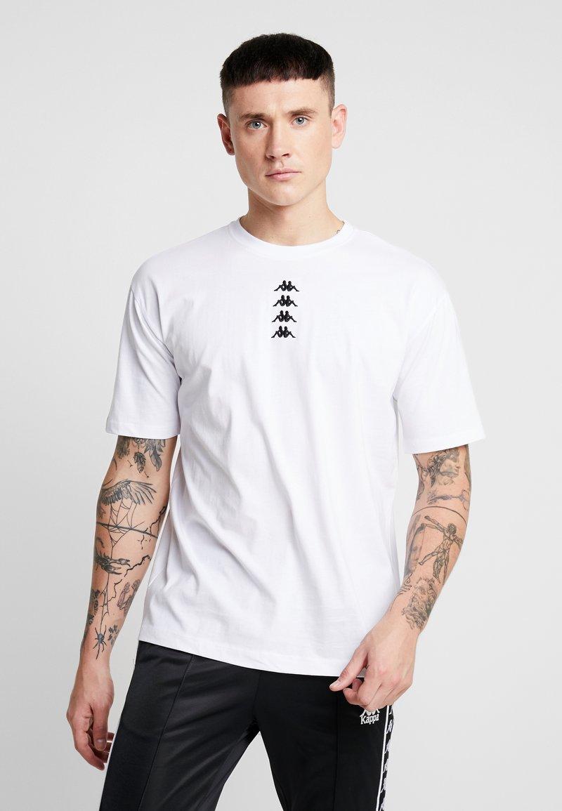 Kappa - VATOU - Print T-shirt - white