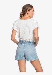 Roxy - SALENTO PLAYA - Denim shorts - light blue - 2