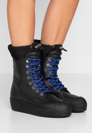 CANDACE - Lace-up ankle boots - black